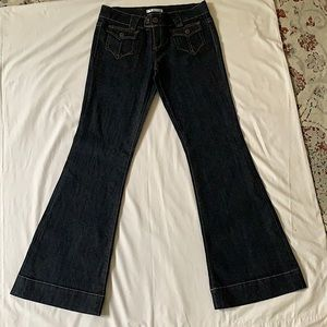 Seductions brand, flare style jeans. Size 9